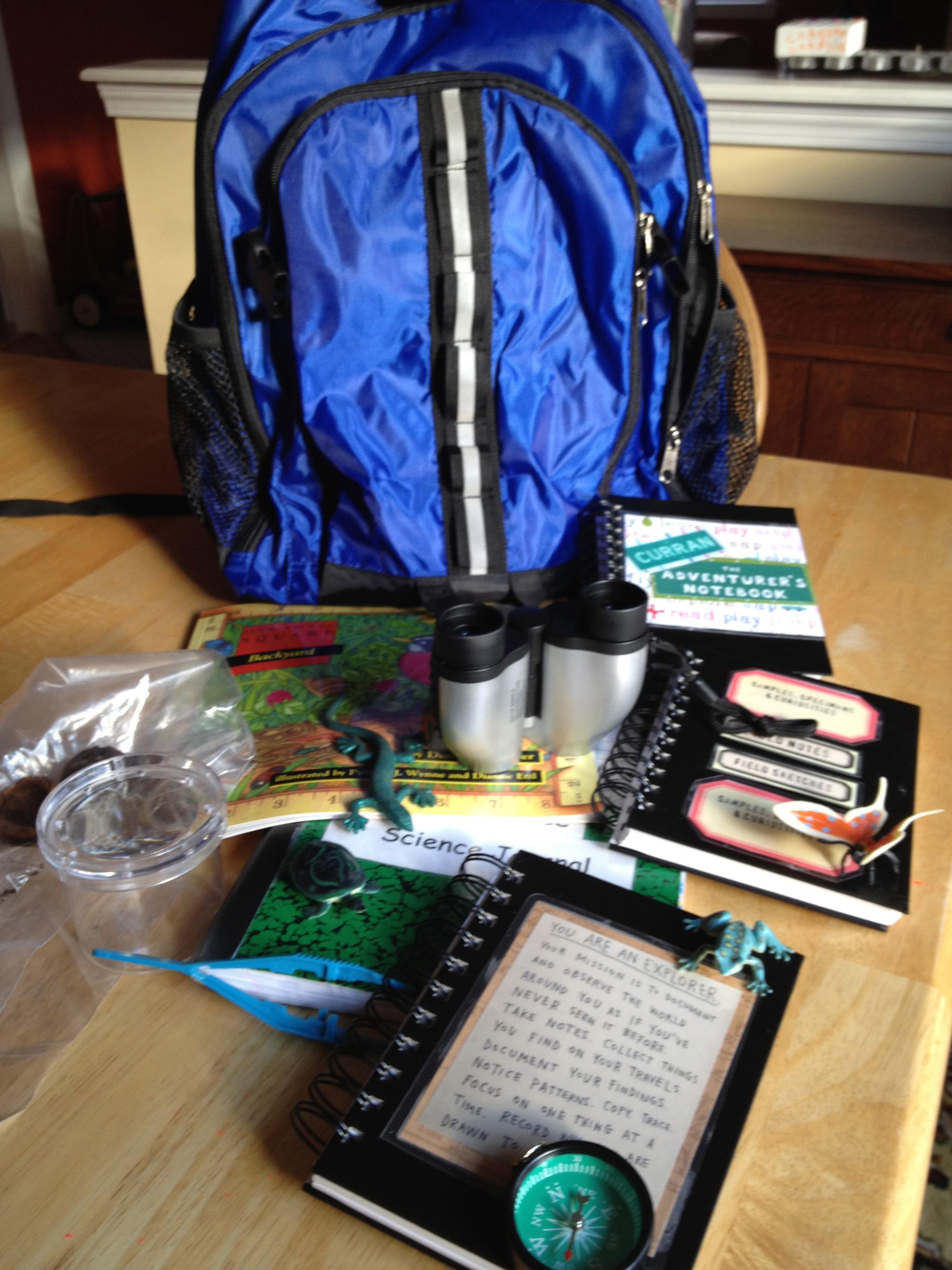 Explorer Backpack Adventures |